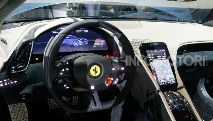 Video anteprima Ferrari Roma, la nuova dolce vita su ruote - Foto 28 di 52