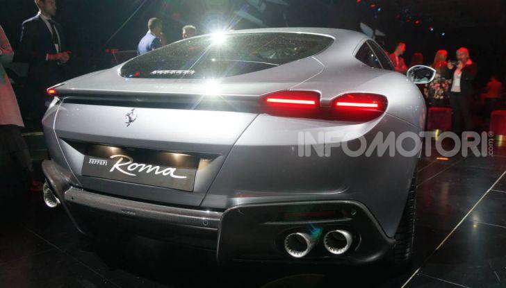 Video anteprima Ferrari Roma, la nuova dolce vita su ruote - Foto 36 di 52