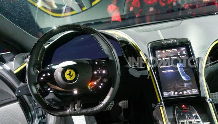 Video anteprima Ferrari Roma, la nuova dolce vita su ruote - Foto 43 di 52