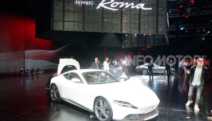 Video anteprima Ferrari Roma, la nuova dolce vita su ruote - Foto 47 di 52