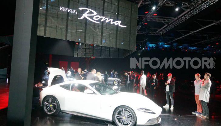 Video anteprima Ferrari Roma, la nuova dolce vita su ruote - Foto 48 di 52