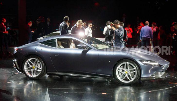 Video anteprima Ferrari Roma, la nuova dolce vita su ruote - Foto 49 di 52
