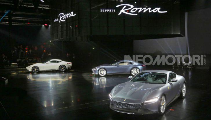 Video anteprima Ferrari Roma, la nuova dolce vita su ruote - Foto 50 di 52
