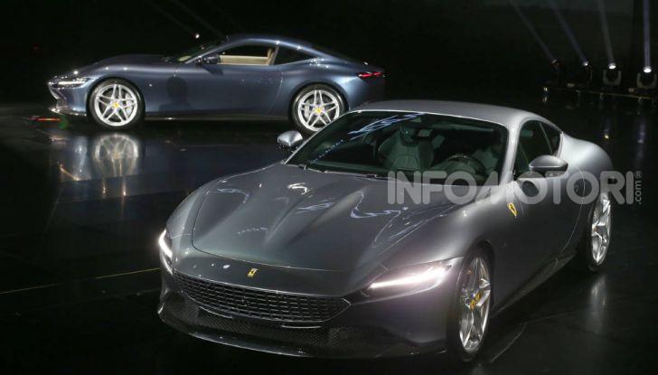 Video anteprima Ferrari Roma, la nuova dolce vita su ruote - Foto 52 di 52
