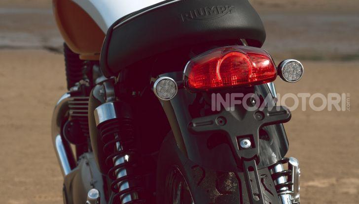 Triumph Bonneville 2020: in arrivo le T120 e T100 Bud Ekins Special Edition - Foto 24 di 27