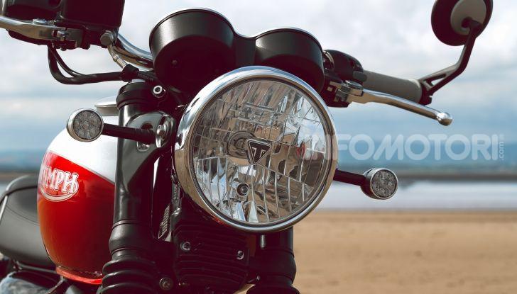 Triumph Bonneville 2020: in arrivo le T120 e T100 Bud Ekins Special Edition - Foto 23 di 27