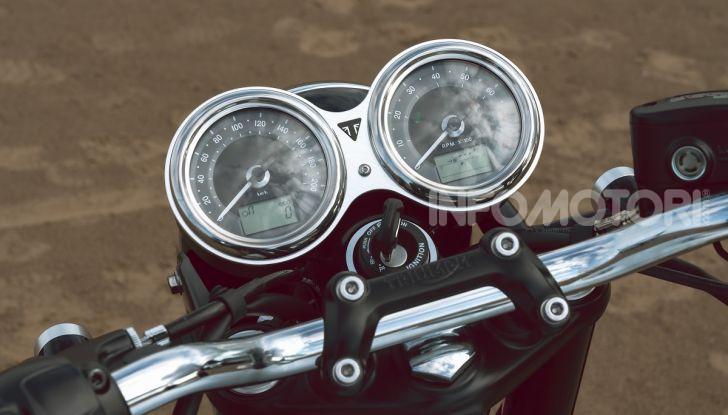 Triumph Bonneville 2020: in arrivo le T120 e T100 Bud Ekins Special Edition - Foto 25 di 27