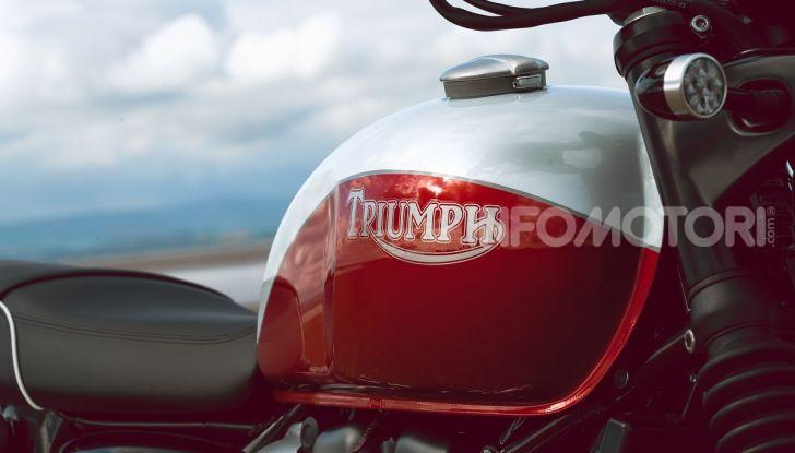 Triumph Bonneville 2020: in arrivo le T120 e T100 Bud Ekins Special Edition - Foto 26 di 27