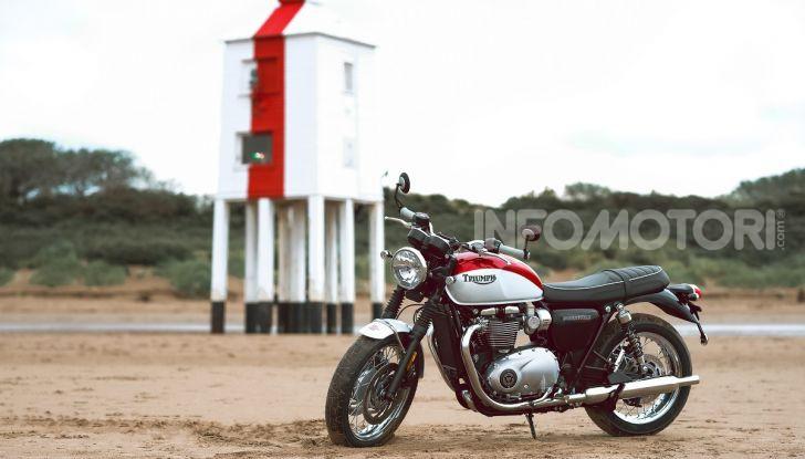 Triumph Bonneville 2020: in arrivo le T120 e T100 Bud Ekins Special Edition - Foto 2 di 27