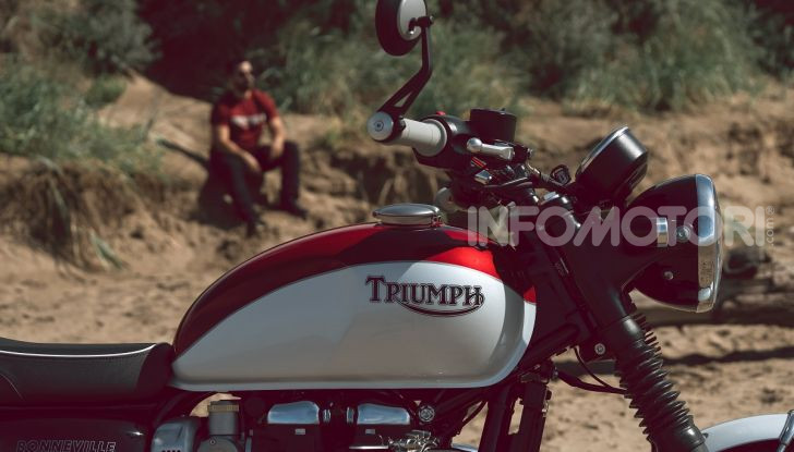 Triumph Bonneville 2020: in arrivo le T120 e T100 Bud Ekins Special Edition - Foto 12 di 27