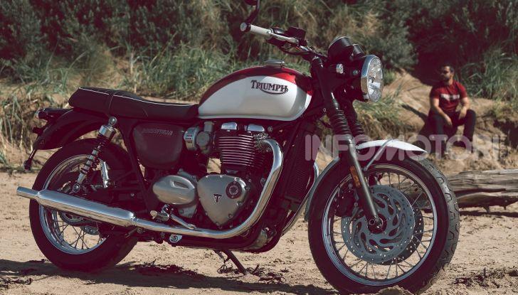 Triumph Bonneville 2020: in arrivo le T120 e T100 Bud Ekins Special Edition - Foto 13 di 27