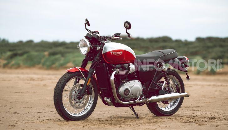 Triumph Bonneville 2020: in arrivo le T120 e T100 Bud Ekins Special Edition - Foto 6 di 27