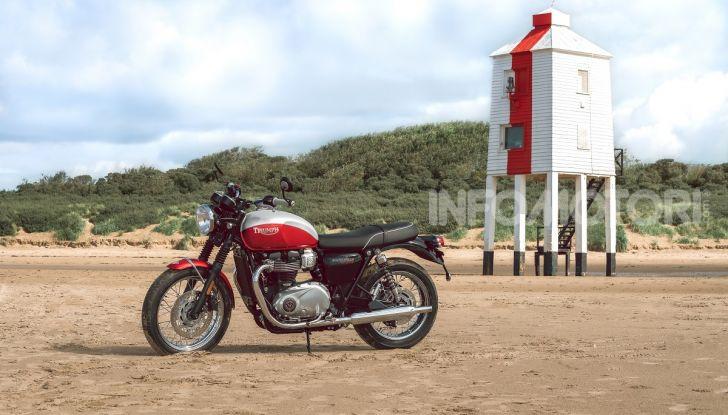 Triumph Bonneville 2020: in arrivo le T120 e T100 Bud Ekins Special Edition - Foto 8 di 27