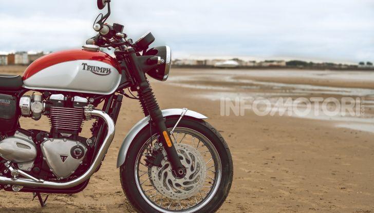 Triumph Bonneville 2020: in arrivo le T120 e T100 Bud Ekins Special Edition - Foto 9 di 27