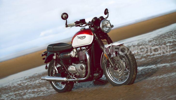 Triumph Bonneville 2020: in arrivo le T120 e T100 Bud Ekins Special Edition - Foto 10 di 27