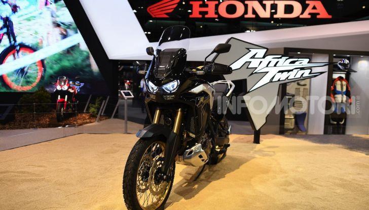 Honda Africa Twin 1100 2020: due versioni, più potenza, nuovo stile ed Euro 5 - Foto 3 di 35