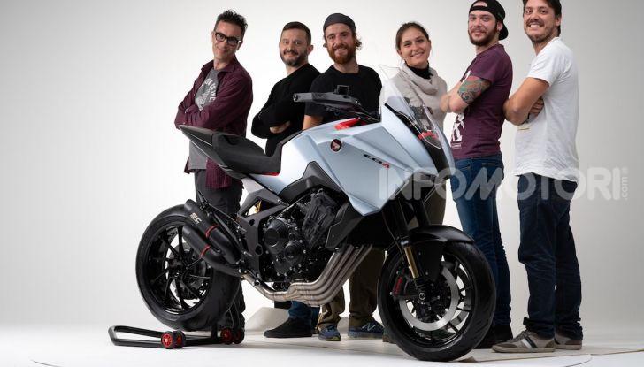 Honda CB4 X Concept: la moto che non c'era - Foto 5 di 20