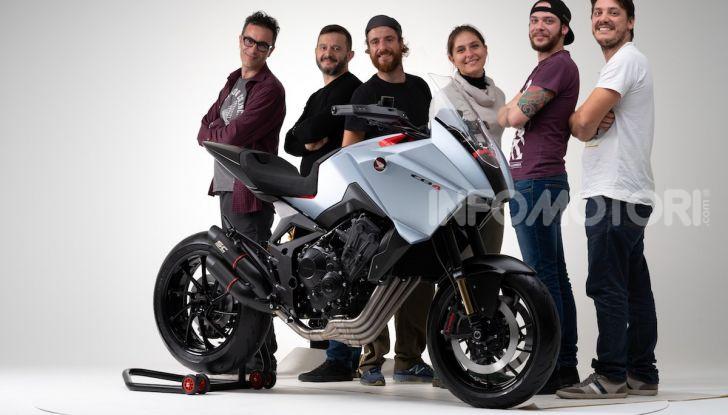 Honda CB4 X Concept: la moto che non c'era - Foto 18 di 20