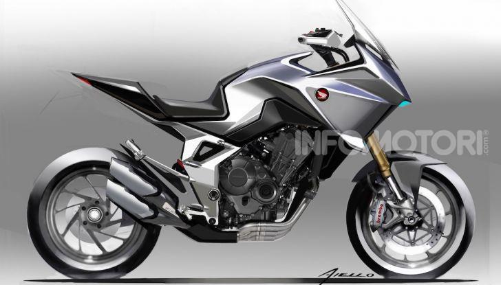 Honda CB4 X Concept: la moto che non c'era - Foto 19 di 20