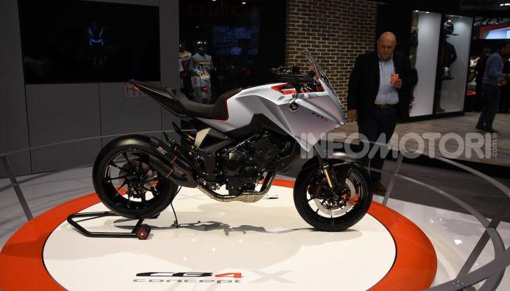 Honda CB4 X Concept: la moto che non c'era - Foto 1 di 20