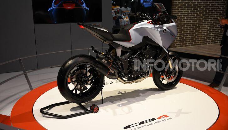 Honda CB4 X Concept: la moto che non c'era - Foto 3 di 20