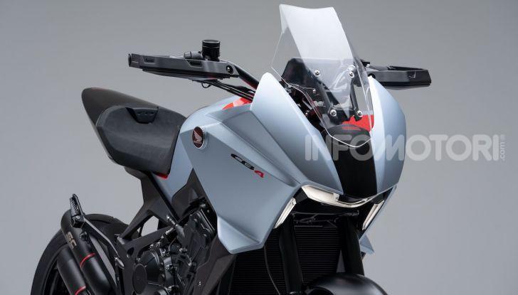 Honda CB4 X Concept: la moto che non c'era - Foto 6 di 20