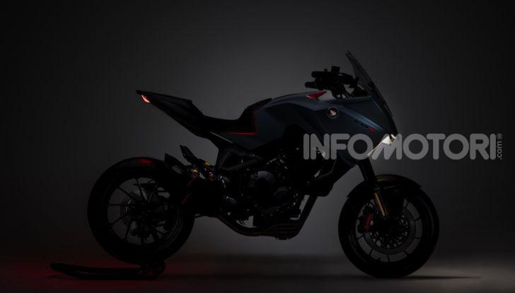 Honda CB4 X Concept: la moto che non c'era - Foto 7 di 20