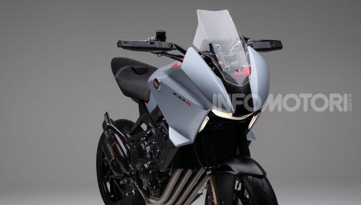 Honda CB4 X Concept: la moto che non c'era - Foto 10 di 20