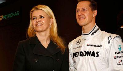 """Corinna Schumacher torna a parlare: """"Quello che ho è merito di Michael"""""""