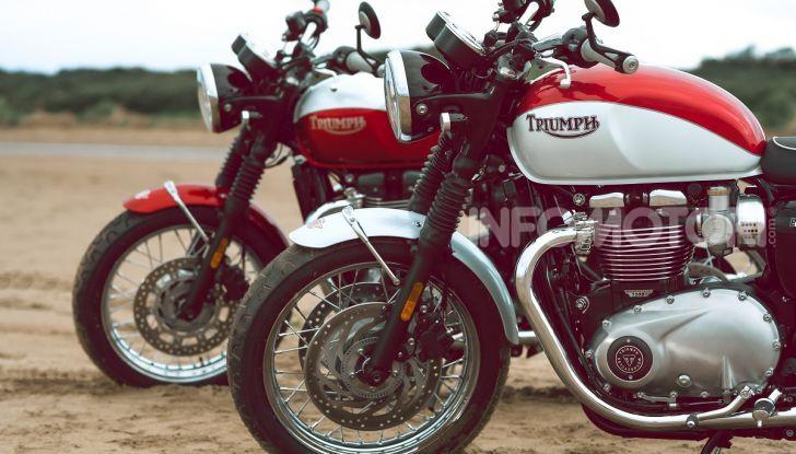 Triumph Bonneville 2020: in arrivo le T120 e T100 Bud Ekins Special Edition - Foto 16 di 27