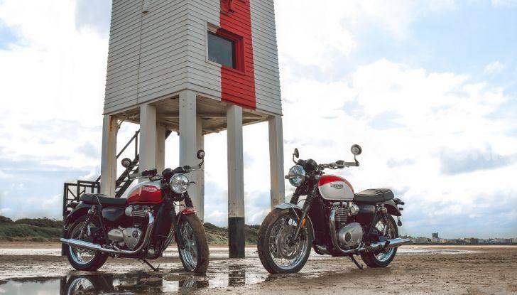 Triumph Bonneville 2020: in arrivo le T120 e T100 Bud Ekins Special Edition - Foto 17 di 27