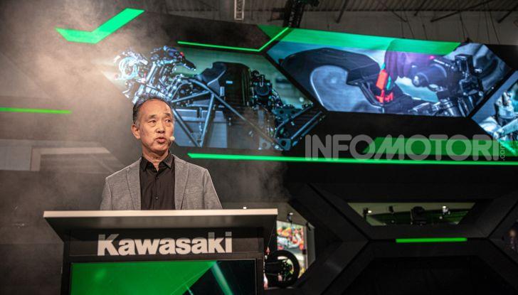 Kawasaki sempre più verde: arriva la prima moto elettirica di Akashi - Foto 12 di 12