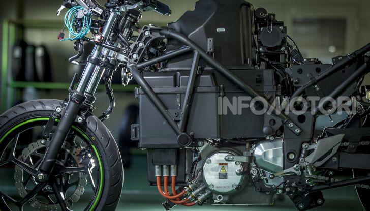 Kawasaki sempre più verde: arriva la prima moto elettirica di Akashi - Foto 4 di 12