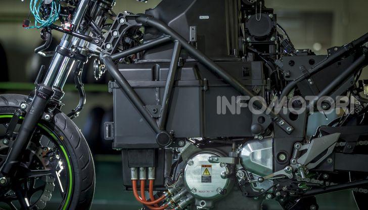 Kawasaki sempre più verde: arriva la prima moto elettirica di Akashi - Foto 5 di 12