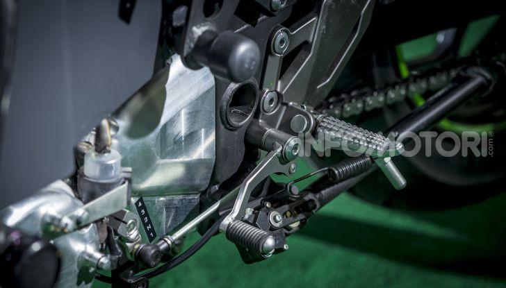 Kawasaki sempre più verde: arriva la prima moto elettirica di Akashi - Foto 6 di 12