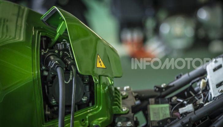 Kawasaki sempre più verde: arriva la prima moto elettirica di Akashi - Foto 9 di 12