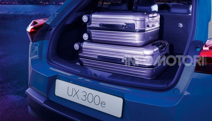 Lexus UX 300e: il SUV elettrico che non c'era - Foto 12 di 47