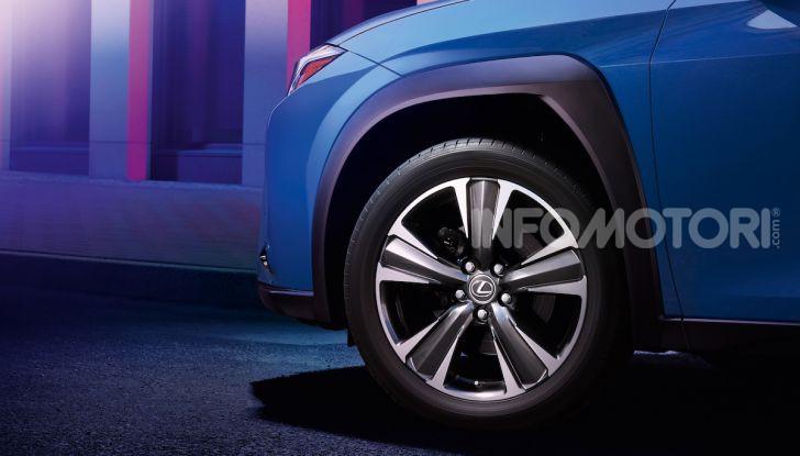 Lexus UX 300e: il SUV elettrico che non c'era - Foto 16 di 47