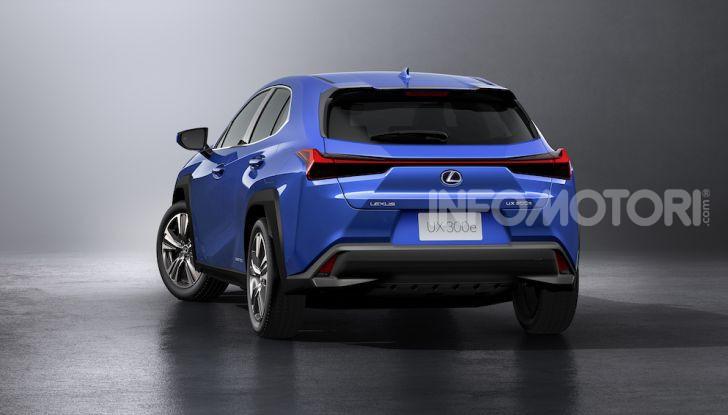 Lexus UX 300e: il SUV elettrico che non c'era - Foto 22 di 47
