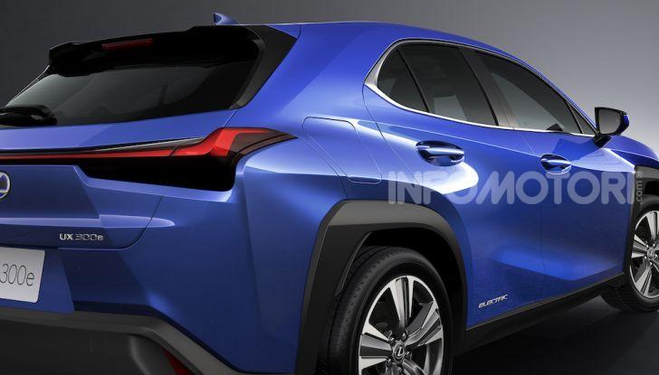 Lexus UX 300e: il SUV elettrico che non c'era - Foto 24 di 47