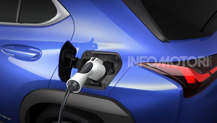 Lexus UX 300e: il SUV elettrico che non c'era - Foto 25 di 47