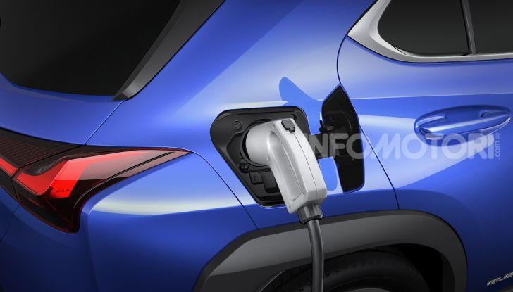 Lexus UX 300e: il SUV elettrico che non c'era - Foto 26 di 47
