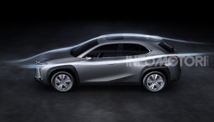 Lexus UX 300e: il SUV elettrico che non c'era - Foto 29 di 47