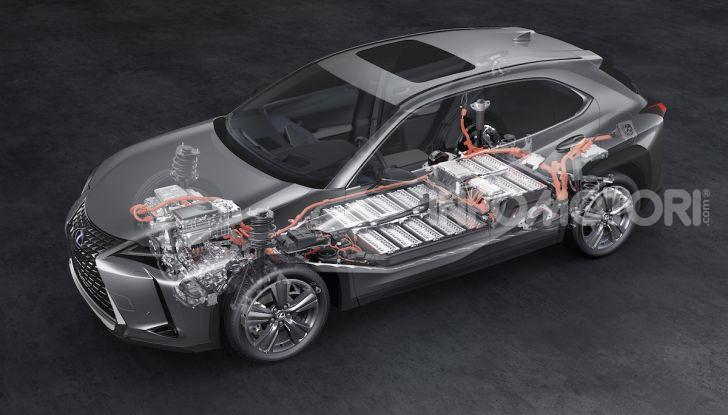 Lexus UX 300e: il SUV elettrico che non c'era - Foto 38 di 47