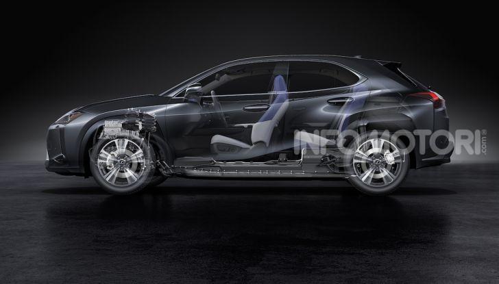 Lexus UX 300e: il SUV elettrico che non c'era - Foto 43 di 47