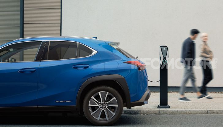 Lexus UX 300e: il SUV elettrico che non c'era - Foto 8 di 47