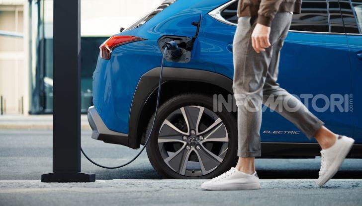 Lexus UX 300e: il SUV elettrico che non c'era - Foto 9 di 47