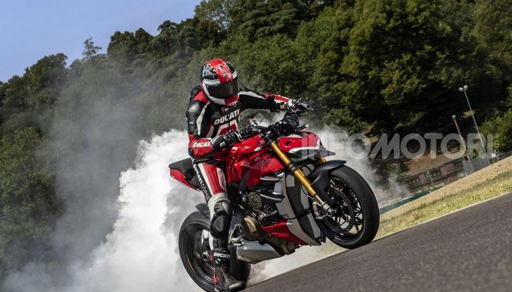 Ducati Streetfighter V4 e V4S: le super-naked da 208 cavalli in stile Panigale - Foto 16 di 40