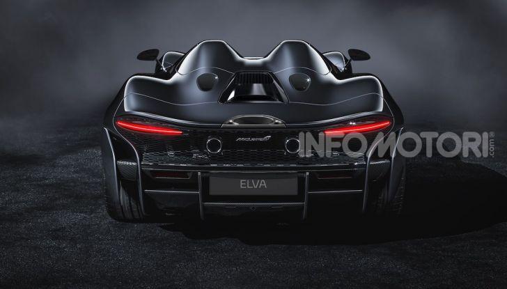 McLaren Elva: un bolide da 815 per soli 399 (ricchi) appassionati - Foto 3 di 6