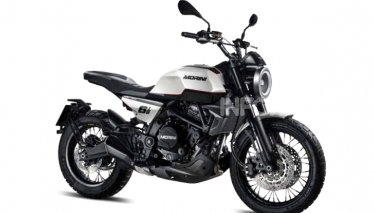 Moto Morini Seiemmezzo, Super Scrambler e X-Cape a EICMA 2019 - Foto 11 di 14